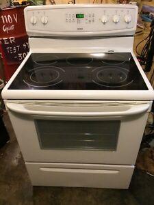 Glass top kenmore stove