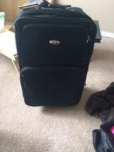 Large suitcase by American