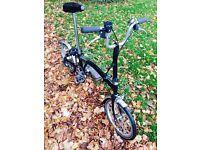 Brompton 3 speed bike
