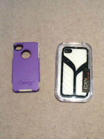 Two iPhone 4 cases.