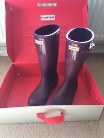 Hunter wellies excellent condition size uk 4