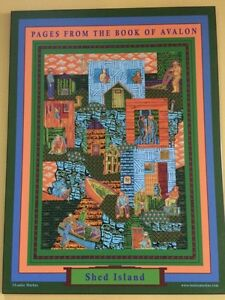 """Painting poster """"Pages from the book of Avalon""""  St. John's Newfoundland image 6"""