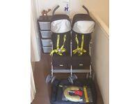 mclaren double buggy mothercare.