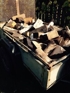 Mixed load of firewood
