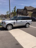 2007 Land Rover Range Rover HSE Full Size. Accident free.