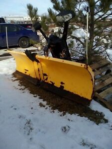 7.5' Meyer vblade snow plow