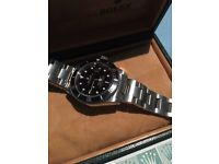 Rolex submariner 16610 boxed with papers swap for milgauss gv