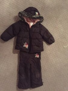 Old Navy Girl winter jacket & snow pant Set snowsuit 3T