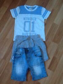 Boys clothes bundles & Jackets age 3-9 9-12 18-24 months