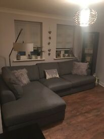 Next corner sofa large left hand stratus III