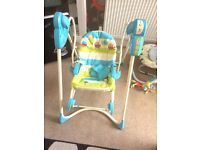 2in1 baby swing and rocker