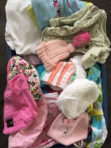 Newborn to 3month clothing Lot