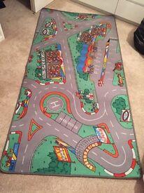 Kids Road Rug