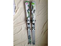 BRAND NEW VOLKL AURA skis with Marker Griffon Bindings
