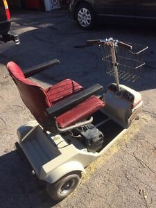 Older scooter with newer batteries. Works perfect! London Ontario image 2