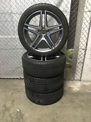 """AMG 20"""" Winterräder Mercedes S-Klasse W222 C217 S63 S65 Winterreifen Continental"""
