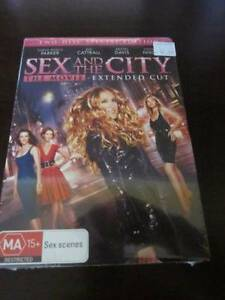 Sex and the City - THE MOVIE - DVD, new, sealed.   2 Disc Special Lenah Valley Hobart City Preview