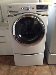 Whirlpool Duet Front Load Washer and Pedestal