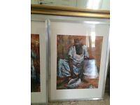 South African framed prints