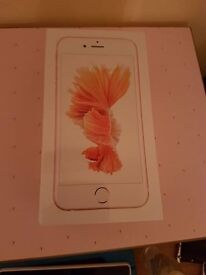 Brand New Iphone 6s Rose Gold