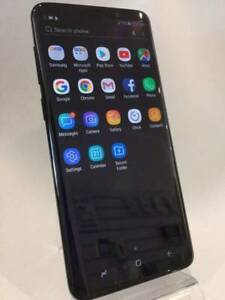 AS NEW GALAXY S9 PLUS 256GB MIDNIGHT BLACK WITH BOX & ACCS