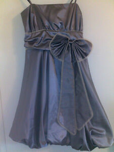Beautiful metallic color open shoulders  Dress Size XS 2-4