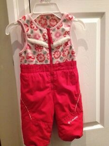 Columbia girls snowsuit size 18 months