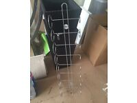 Reduced. Wall mounted Wine rack