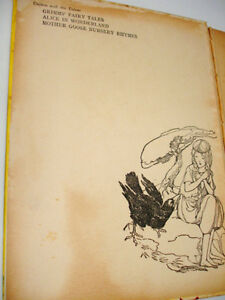 1940s rare WARTIME ANDERSEN'S FAIRY TALES plates Anne Anderson Cambridge Kitchener Area image 3
