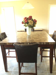 Pub-Height Dining Set with Server
