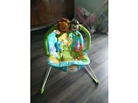 Fisher price baby bouncer in vgc