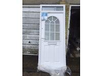 Composite White Front Door **BRAND NEW**
