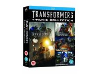 Transformers Complete 1-4 Movie Collection Blu Ray Box Set - BRAND NEW & UNOPENED!