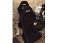 sabelt bucket seats with rails