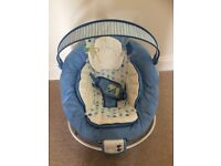 Bright Starts Comfort & Harmony Baby Bouncer GREAT CONDITION