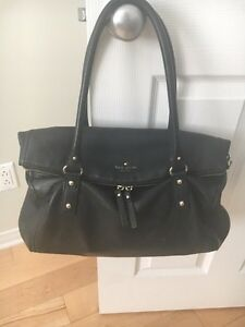 Pre-Owned Kate Spade Black Leather Bag West Island Greater Montréal image 3