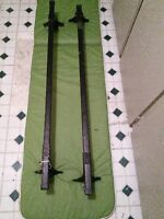 """THULE 46"""" ROOF RACK GOOD CONDITION FIRM"""