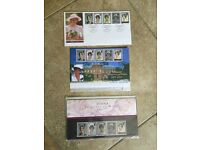 DIANA PRINCESS OF WALES - 3 Sets Of Stamps (In Presentation Packs)