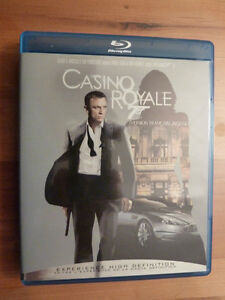 DVD du film Casino Royale (James Bond) en 2D blu-ray