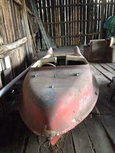 1950's Larson Falls Flyer  - rare classic fiberglass boat Cornwall Ontario image 3