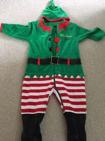 6-9 month elf outfit