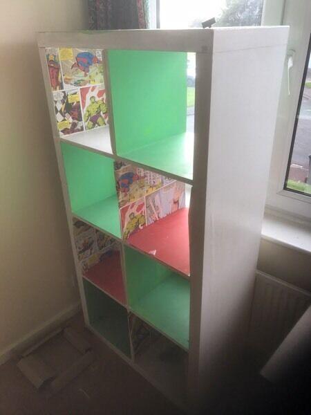 Kids bedroom furniture drawers unit