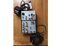 Phonic mixer and phantom power unit