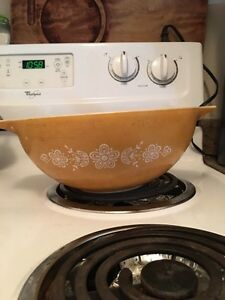 Butterfly gold Pyrex  Kitchener / Waterloo Kitchener Area image 1