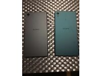 Sony Xperia Z5 (one green, one black)