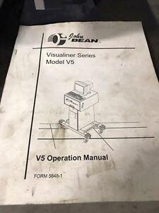 John bean visualiner v5 vehicle alignment machine.  Kitchener / Waterloo Kitchener Area image 2