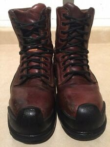 Men's Terra Steel Toe Work Boots Size 9.5 London Ontario image 3