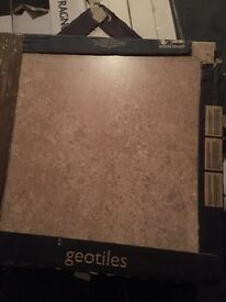 Geo tiles large floor tiles