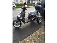3 wheeled motor bike