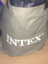 Intex blow up single bed